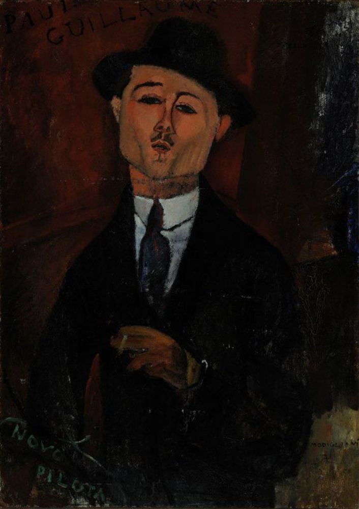 Amedeo Modigliani - Paul Guillaume, Novo Pilota.jpg
